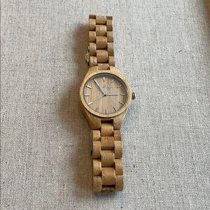 Swell bamboo watch